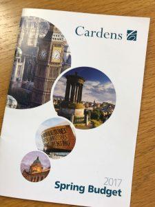 Cardens Spring Budget 2017